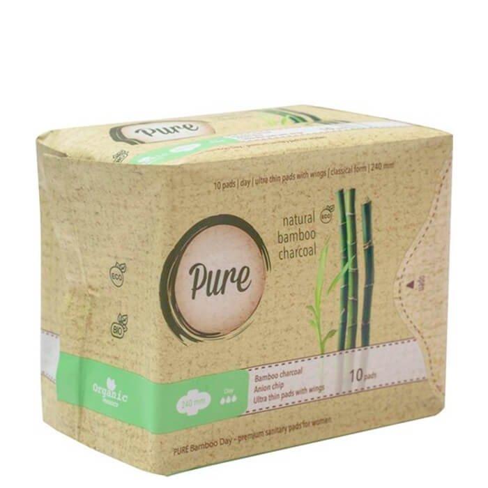 Гигиенические прокладки Pure Bamboo Day (24 см)