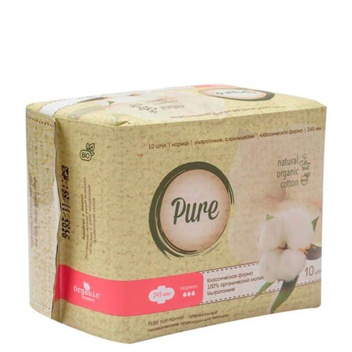 Гигиенические прокладки Pure Soft Normal (24,5 см)