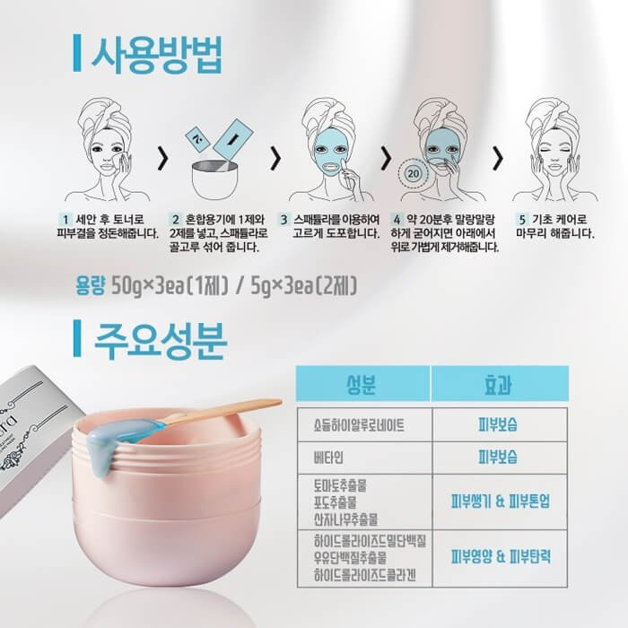 Набор альгинатных масок Redtera Home Treatment Moisturizing Modeling Mask