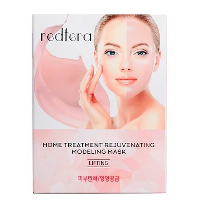 Набор альгинатных масок Redtera Home Treatment Rejuvenating Modeling Mask