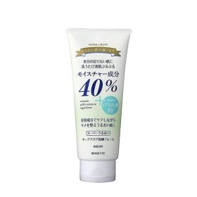 Пенка для умывания Rosette 40% Super Moisture Keep Aqua Facial Cleansing Foam