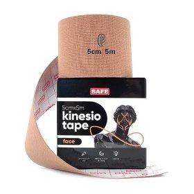 Кинезио тейп для лица SAFESPOT Kinesiology Face Tape (5см*5м)