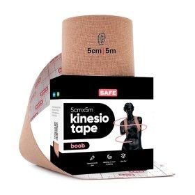 Кинезио тейп для груди SAFESPOT Kinesiology Boob Tape (5см*5м)