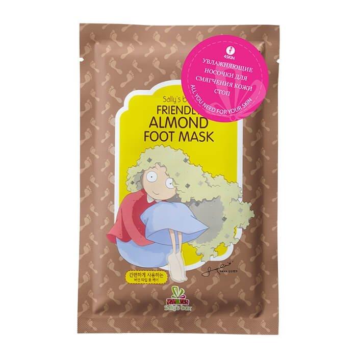 Маска для ног Sally's Box Friendly Almond Foot Mask