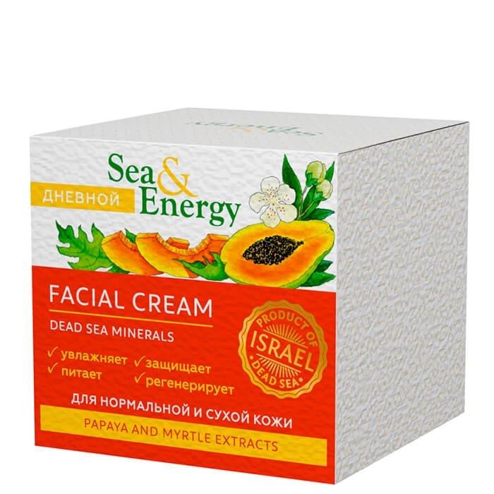 Крем для лица Sea & Energy Facial Day Cream - Papaya & Myrtle