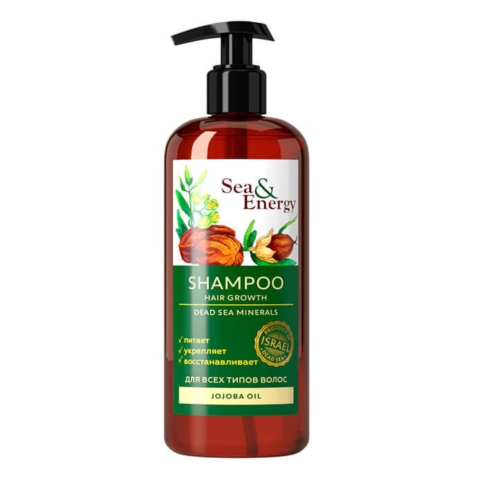 Шампунь для волос Sea & Energy Shampoo Hair Growth - Jojoba Oil