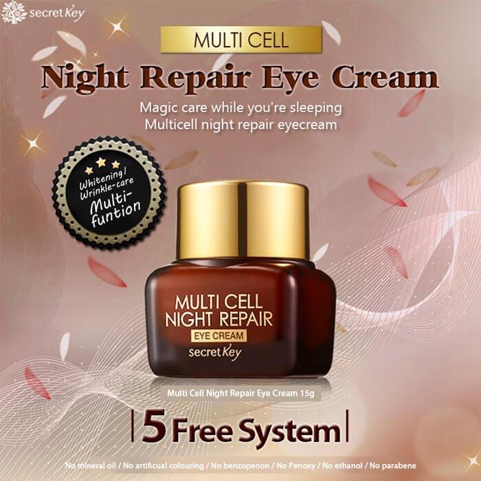 Крем для век Secret Key Multi Cell Night Repair Eye Cream