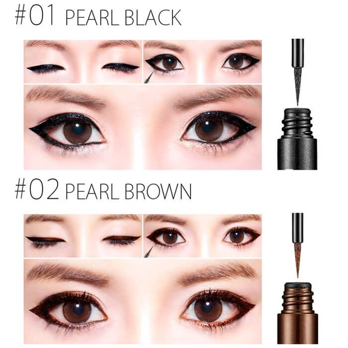 Подводка для глаз Secret Key Skinny Real Pearl Eye Liner