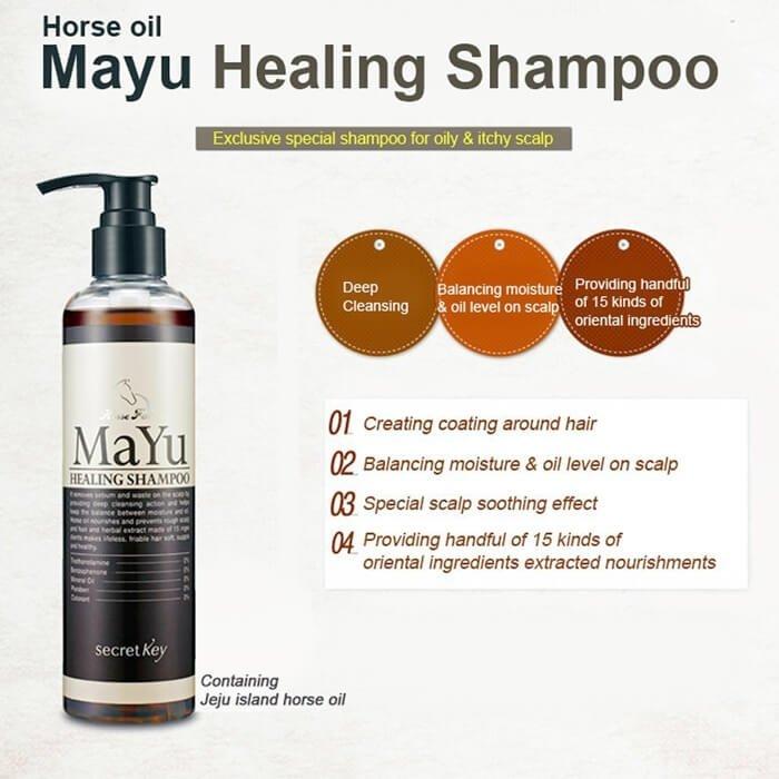 Шампунь для волос Secret Key MAYU Healing Shampoo