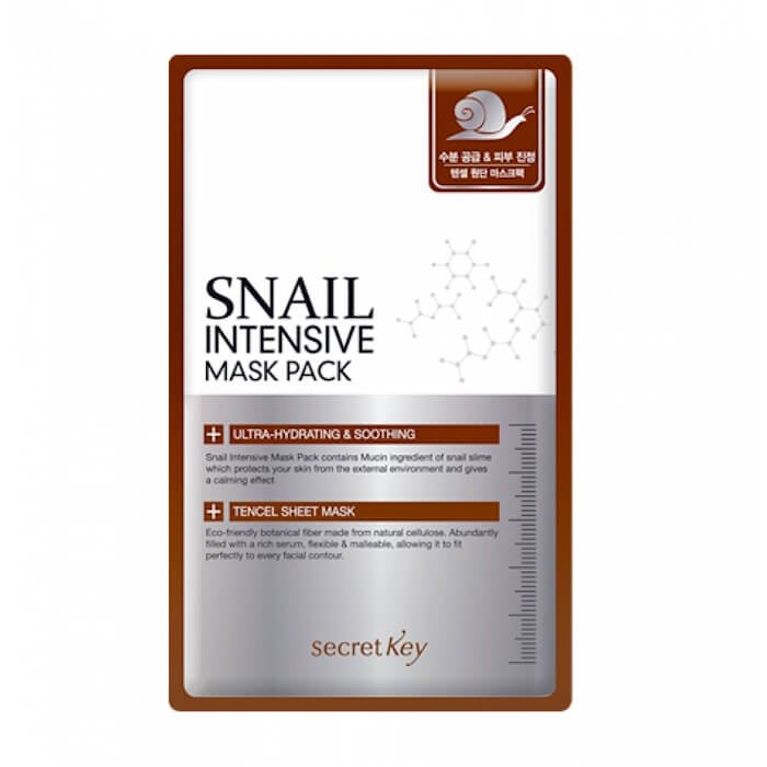 Тканевая маска Secret Key Snail Intensive Mask Sheet