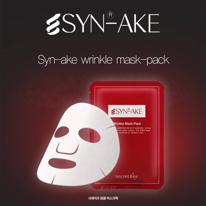 Тканевая маска Secret Key Syn-Ake Wrinkle Mask Pack