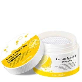 Ватные диски для пилинга Secret Key Lemon Sparkling Peeling Pad