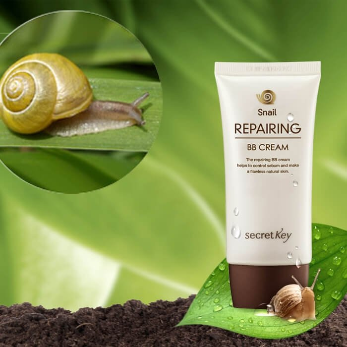 ВВ крем Secret Key Snail Repairing BB Cream