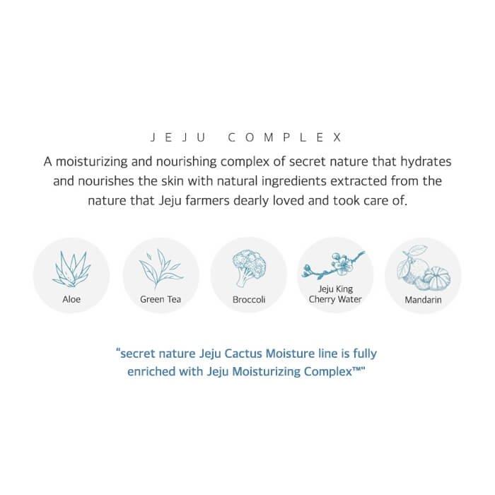 Эссенция для лица Secret Nature Jeju Cactus Moisture Essence