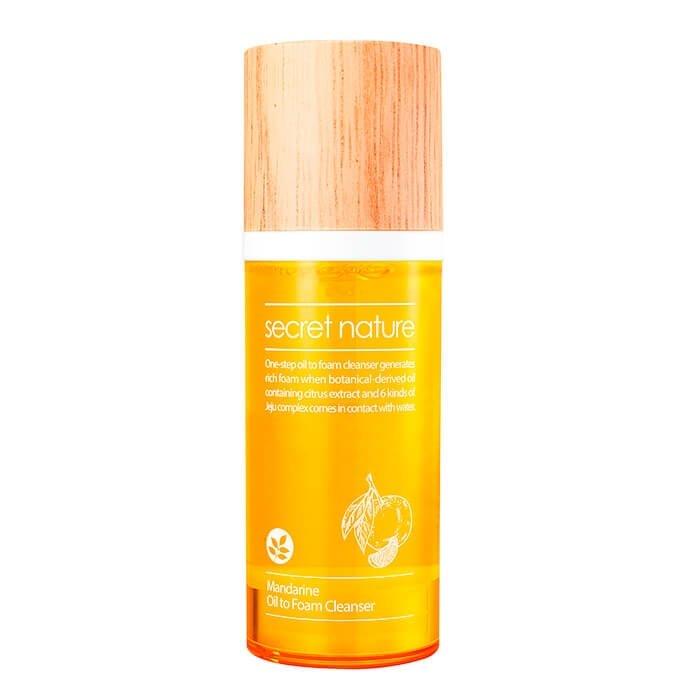 Гидрофильное масло-пенка Secret Nature Mandarine Oil to Foam Cleanser