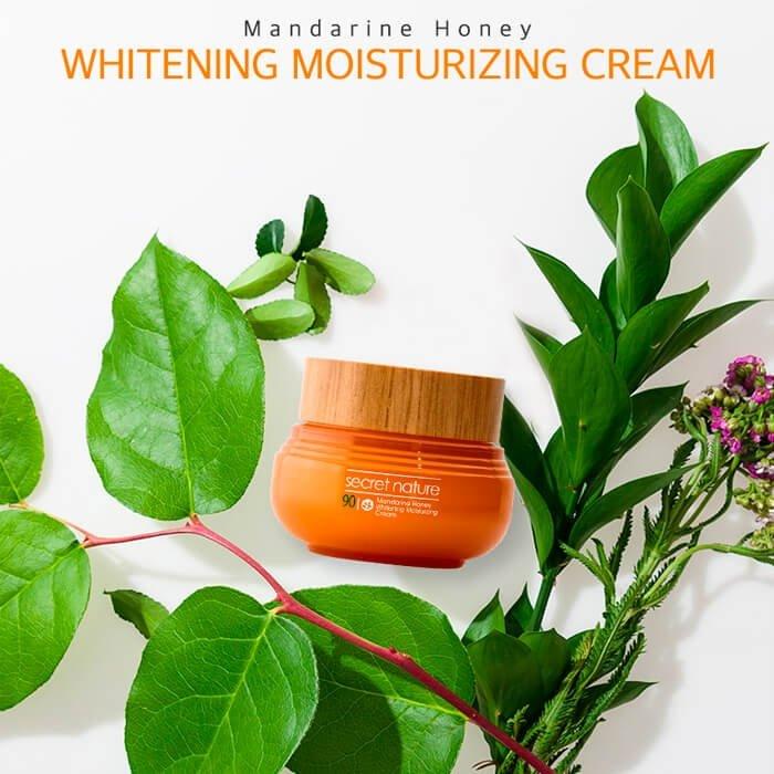 Крем для лица Secret Nature Mandarine Honey Whitening Moisturizing Cream