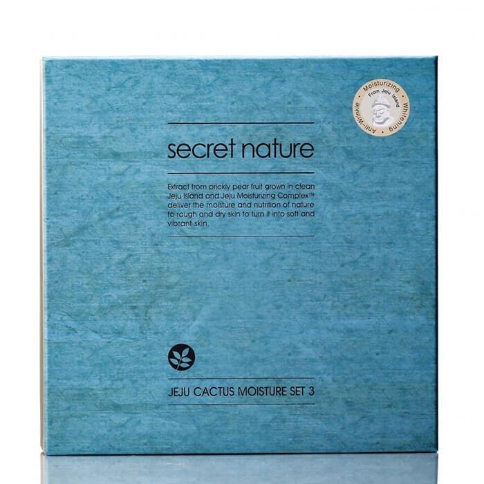 Набор для лица Secret Nature Jeju Cactus Moisture Set