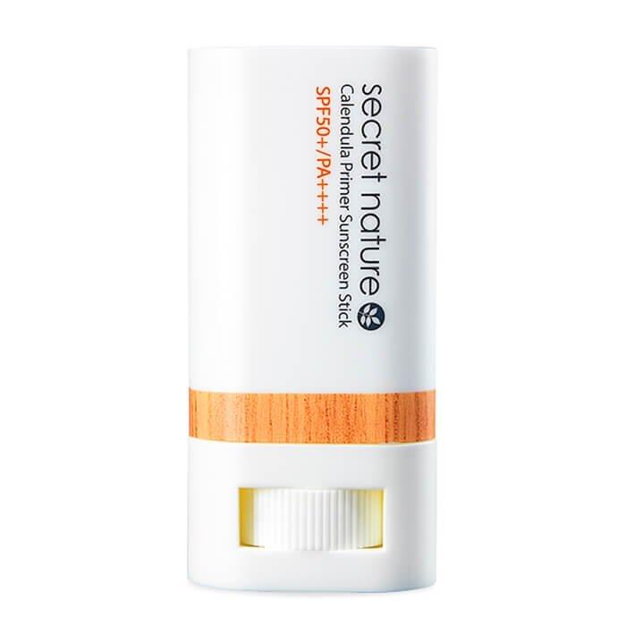 Солнцезащитный стик Secret Nature Calendula Primer Sunscreen Stick