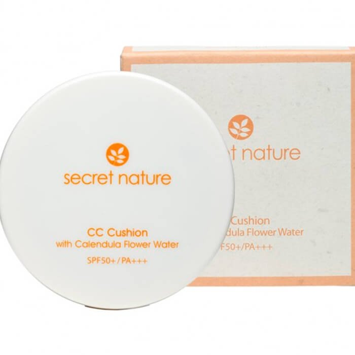 СС кушон Secret Nature Calendula Extract CC Cushion