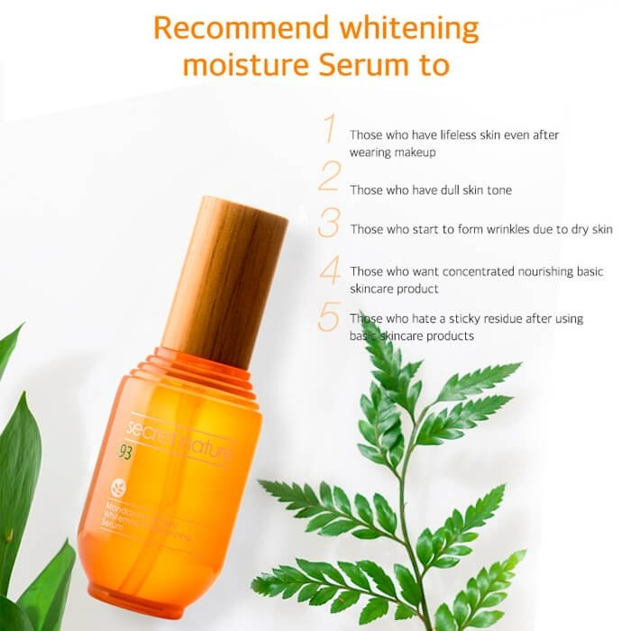 Сыворотка для лица Secret Nature Mandarine Honey Whitening Moisturizing Serum