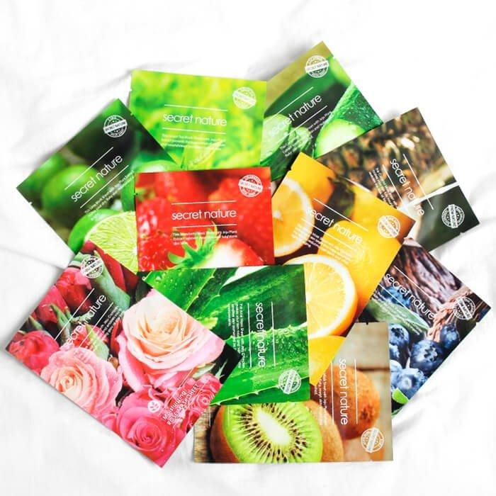 Тканевая маска Secret Nature Brightening Lemon Mask Sheet