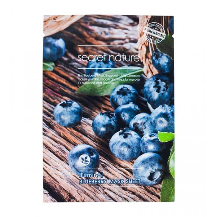Тканевая маска Secret Nature Firming Blueberry Mask Sheet