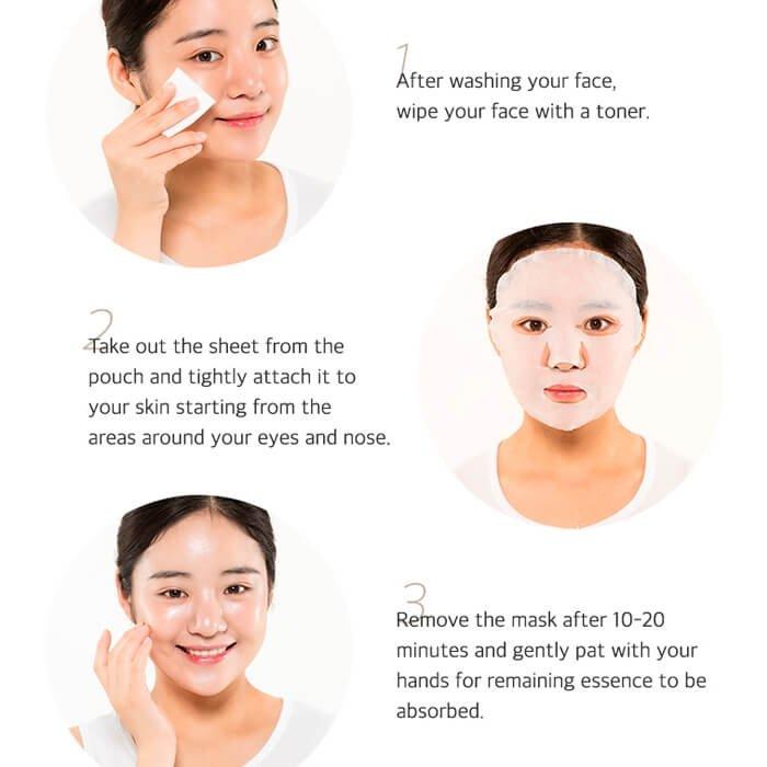 Тканевая маска Secret Nature Nourishing Coconut Mask Sheet