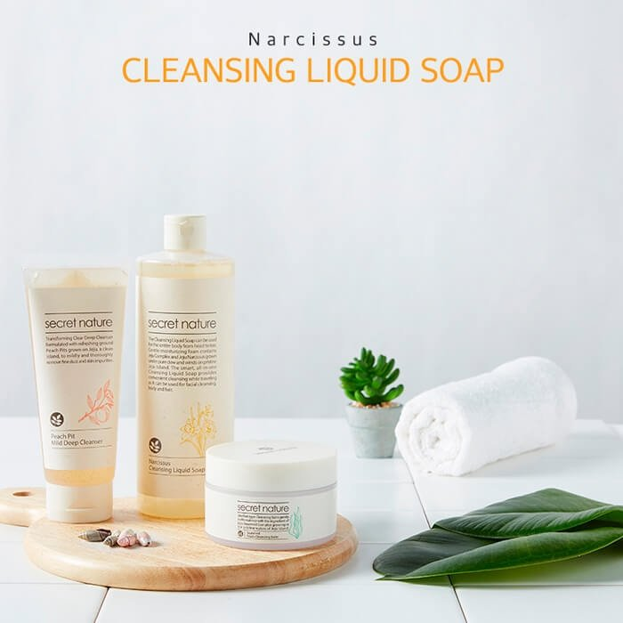 Жидкое мыло Secret Nature Narcissus Cleansing Liquid Soap