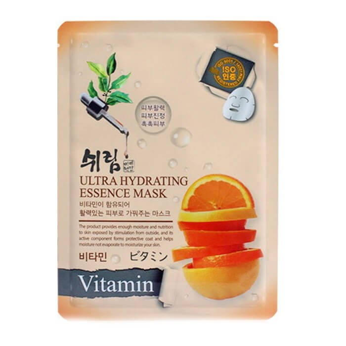 Маска для лица Shelim Hydrating Essence Mask - Vitamin