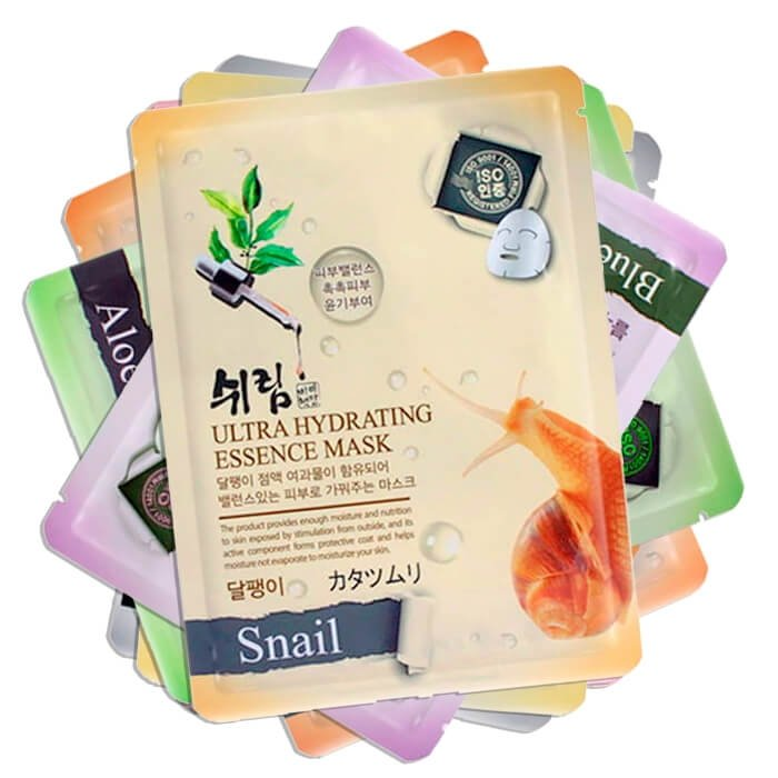 Набор тканевых масок Shelim Hydrating Essence Mask - Full Set