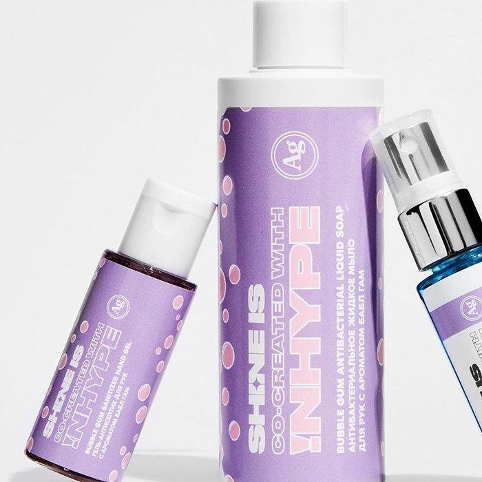 Антибактериальный гель для рук Shine is Bubble Gum Sanitizer Hand Gel (30 мл)