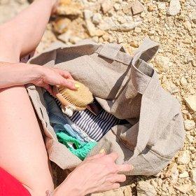 Эко сумка-шоппер SIFO с карманом - 40*60см