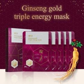 Тканевая маска Skin Factory SF23 Ginseng Gold Triple Energy Mask (1 шт.)