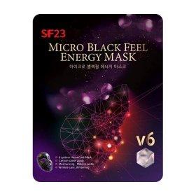 Гальваническая маска Skin Factory SF23 Micro Black Feel Energy Mask