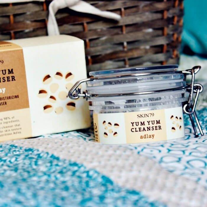Очищающий крем Skin79 Natural 98 Yum Yum Cleanser Adlay