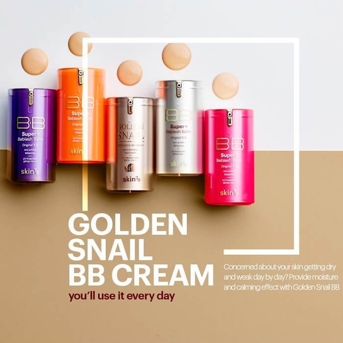 ВВ крем Skin79 Golden Snail Intensive BB Cream