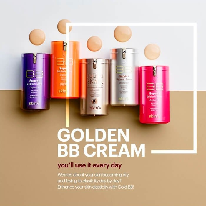 ВВ крем Skin79 Super Plus Beblesh Balm Gold