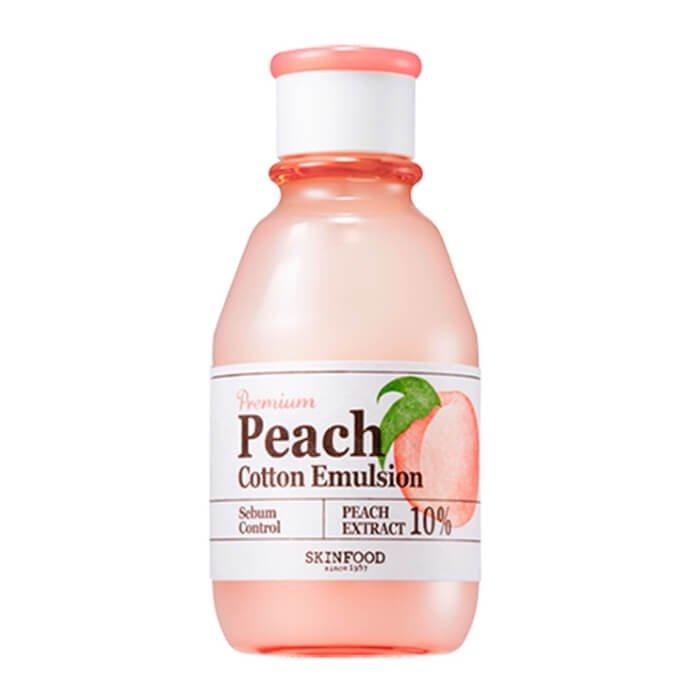 Эмульсия для лица Skinfood Premium Peach Cotton Emulsion