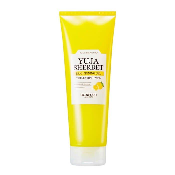 Гель с лимоном Skinfood Yuja Sherbet Brightening Gel 90