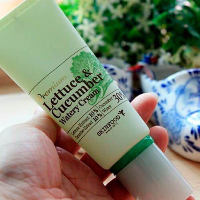 Крем для лица Skinfood Premium Lettuce & Cucumber Watery Cream