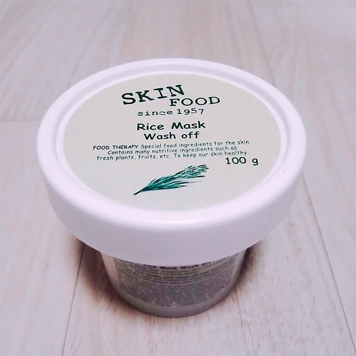 Очищающая маска Skinfood Rice Mask Wash Off