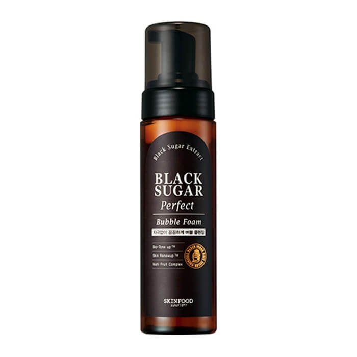 Очищающая пенка Skinfood Black Sugar Perfect Bubble Foam