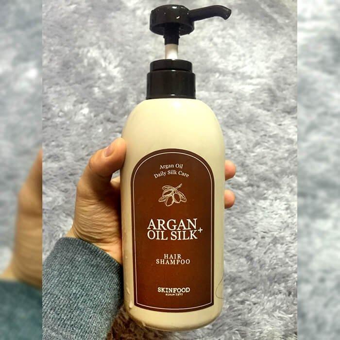 Шампунь для волос Skinfood Argan Oil Silk Plus Hair Shampoo