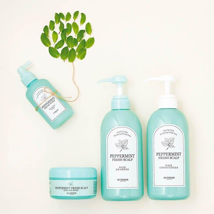 Шампунь для волос Skinfood Peppermint Fresh Scalp Shampoo