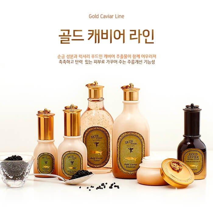 Сыворотка для век Skinfood Gold Caviar Lifting Eye Serum