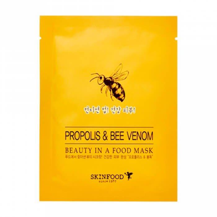 Тканевая маска Skinfood Beauty In A Food Mask Sheet Propolis & Bee Venom