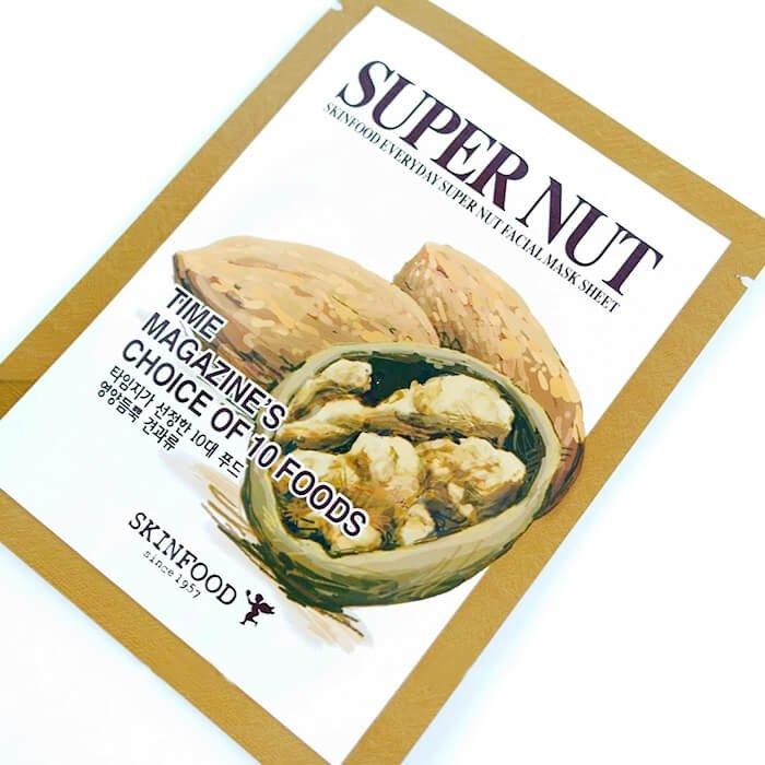 Тканевая маска Skinfood Everyday Super Nut Mask Sheet