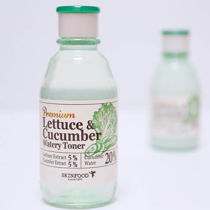 Тонер для лица Skinfood Premium Lettuce & Cucumber Watery Toner