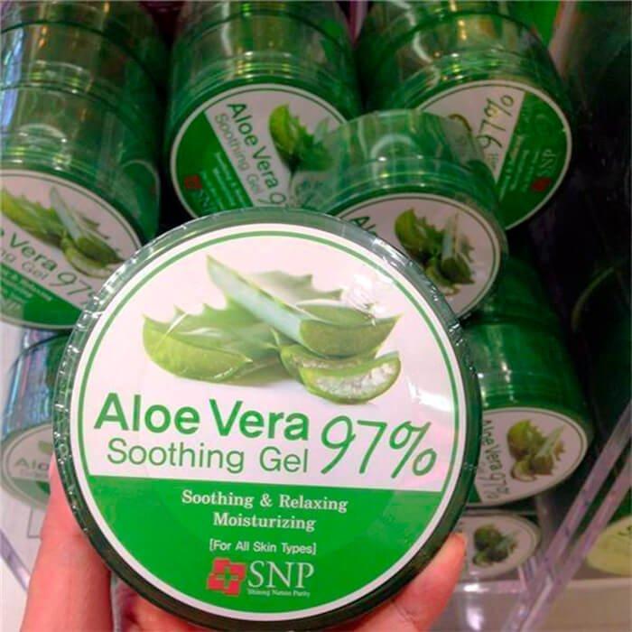 Гель с алоэ SNP Aloe Vera 97% Soothing Gel