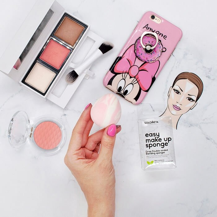 Спонж для макияжа Solomeya Drop Double-Ended Blending Sponge